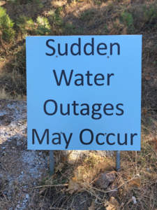 USDA funded Water Distribution System Improvement Project