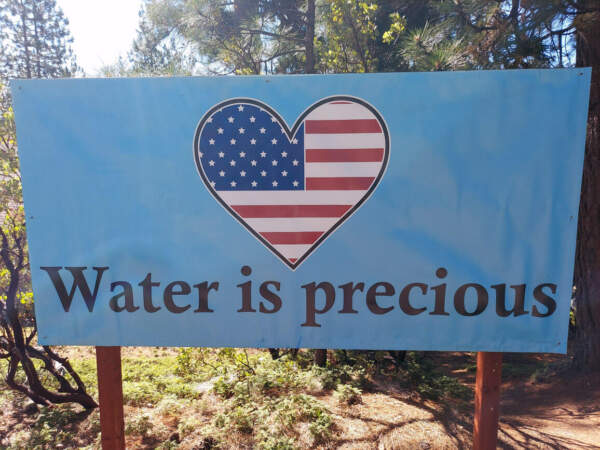 Water is precious